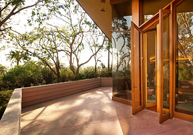Frank lloyd wright ablin house bakersfield california modern patio los angeles by Home design furniture bakersfield ca
