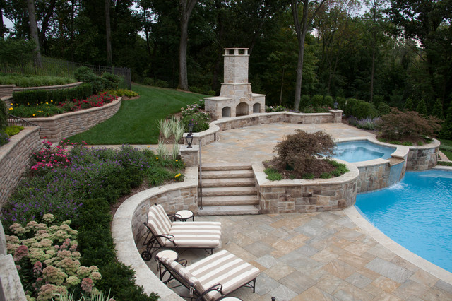 Franklin Lakes Milbrook Project 1 traditional-patio