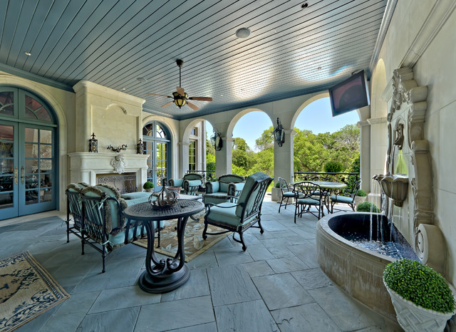 Private Residence - French Formal Luxury traditional patio