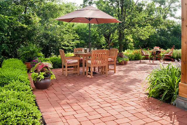 French country garden traditional patio chicago by for Country garden design