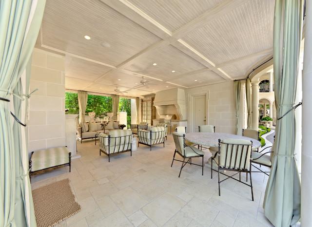 Formal Residential Estate & Garden traditional-patio