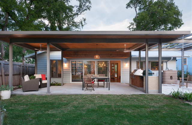 French Place Cottage Contemporary Patio Austin By
