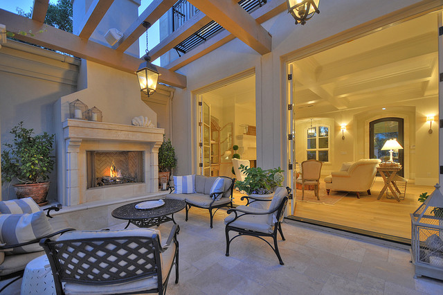 French Provincial Traditional Patio Sacramento By