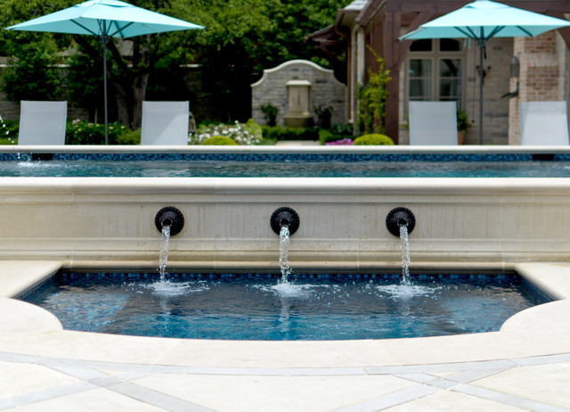 French Casual traditional-patio