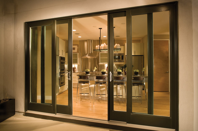 French Sliding Glass Patio Doors Contemporary Patio Seattle
