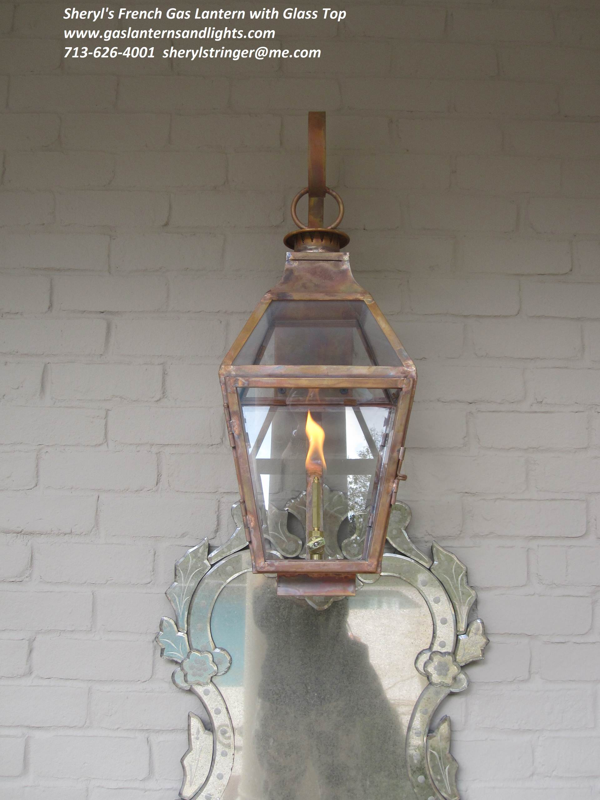 French Style Gas and Electric Lanterns by Sheryl Stringer