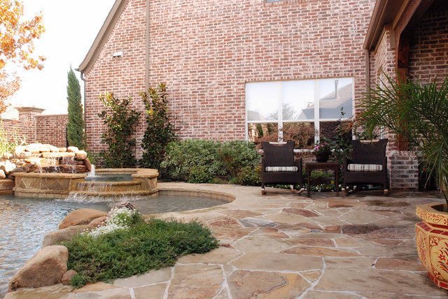 Frisco Residence traditional-patio