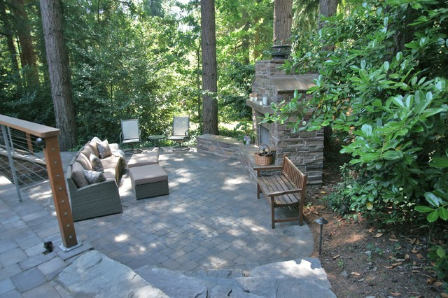 From Kid Space to Grown Up Space - Traditional - Patio - Portland - by Creative Garden Spaces