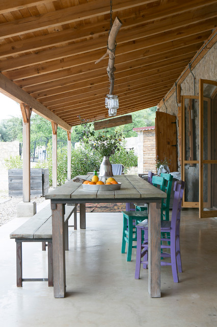 From old olive mill to Luxury holiday villa, Datca Turkye mediterranean-patio