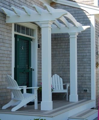 Pergola For Front Entrance Of House Designs on curved deck with pergola, wire pergola, front yard pergola, house plans ranch style with pergolas, white cedar pergola, front porch pergola, back porch pergola, house without front door, attached pergola, house with porch front door,