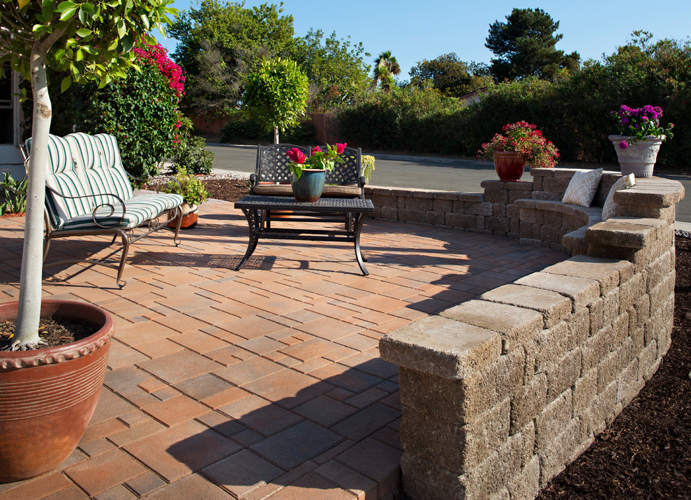 Front Yard Paver Patio Transformation in San Diego, CA ...