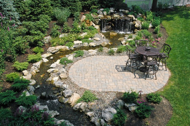 Superbe Fun, Beautiful And Safe For Kids...think Pondless Waterfall And Stream  Traditional