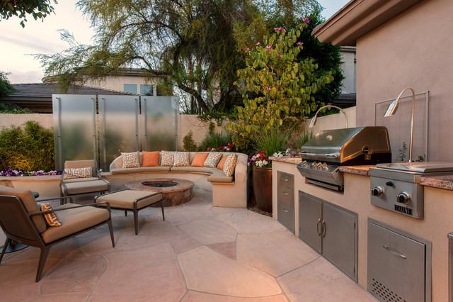 Gainey Village Home contemporary-patio