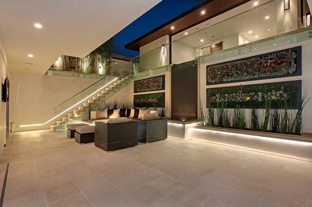 Galatea contemporary-patio