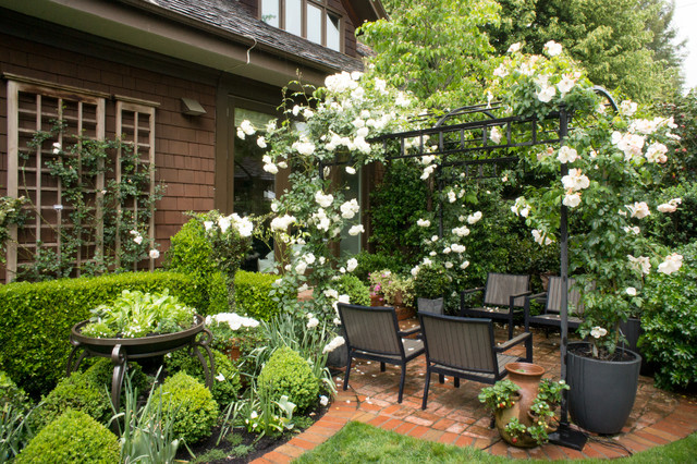 Gamble Garden Spring Tour 2014: Webster - Traditional - Patio - San Francisco - by Hoi Ning Wong