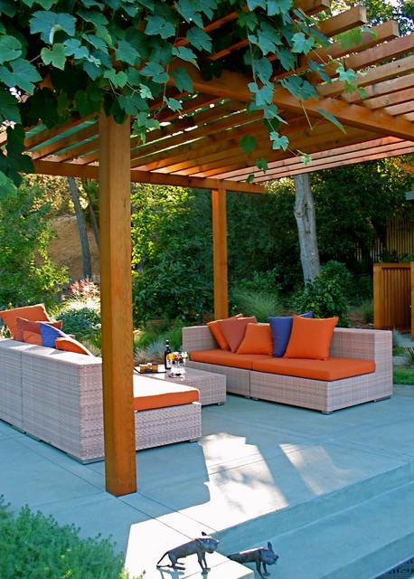 Garden Architecture/Robert Trachtenberg modern-patio