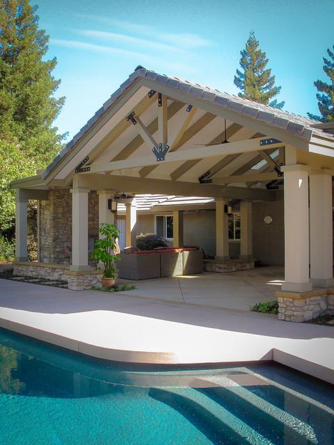 Garden Brook traditional-patio