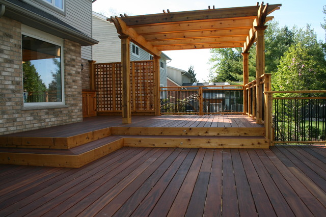 Garden decks patio toronto by jws woodworking and for Decks and patios design ideas