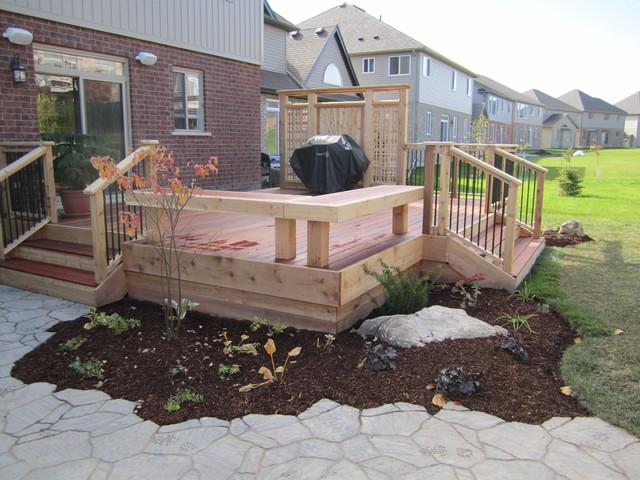 Attractive Garden Decks Traditional Patio