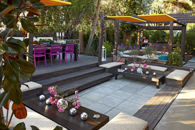 Garden gallery by jamie durie contemporary patio for Jamie durie garden designs
