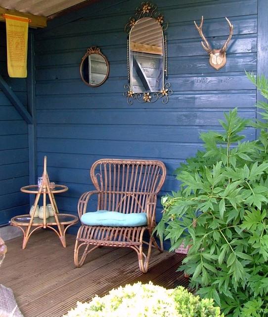 Garden midcentury-exterior