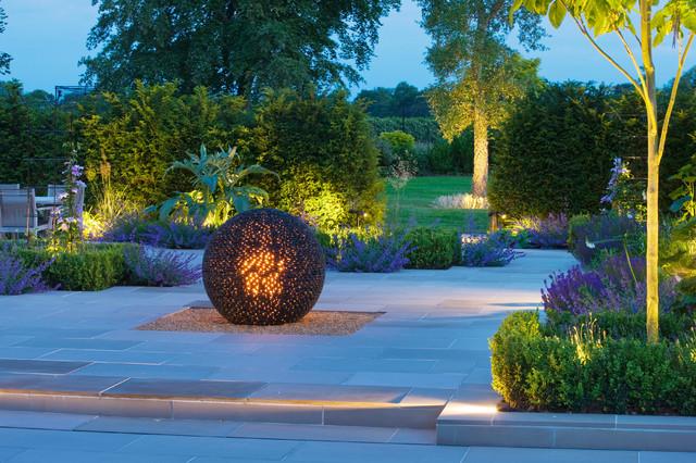 Garden Lighting Contemporary Patio