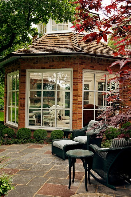 Garden Room traditional patio