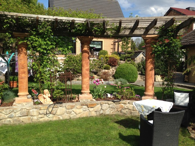 Download Mediterrane Gartenmauer Mit Fenster Siteminsk.