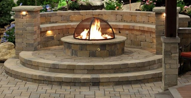 Gas Fire Pits Traditional Patio Salt Lake City By