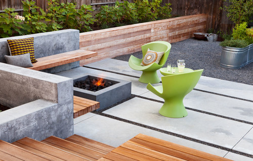 Contemporary Patio by San Francisco Landscape Architects & Landscape Designers Arterra Landscape Architects