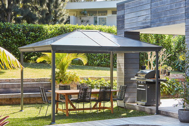 Motorised Roller Blinds Modern Patio Melbourne By Bunnings Warehouse Houzz Au