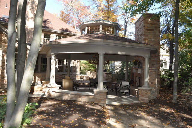Gazebo traditional-patio