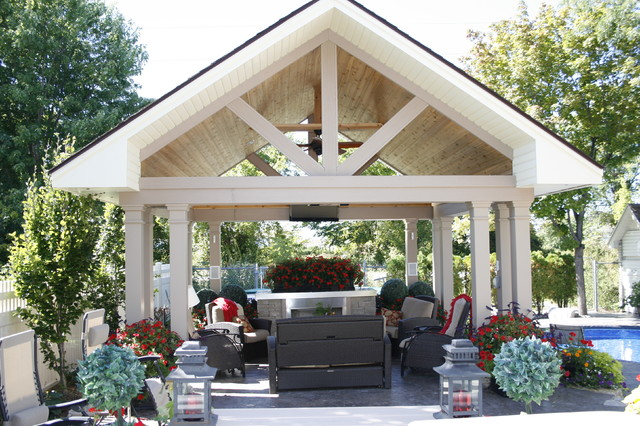 Backyard Cabanas Gazebos : Decks, Patios & Outdoor Enclosures