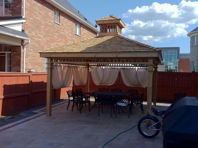 Gazebo's traditional-patio