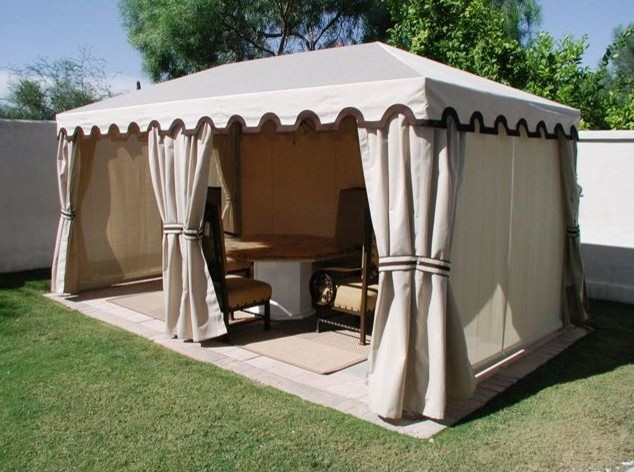 Gazebos traditional-patio & Gazebos - Traditional - Patio - Phoenix - by Phoenix Tent and ...