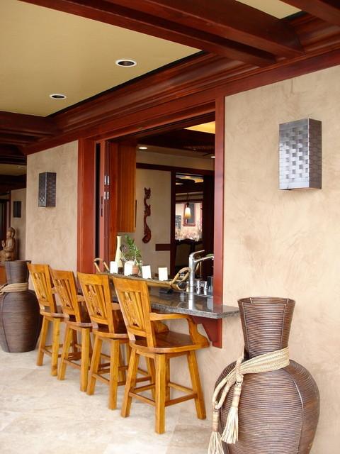 Geist Residence tropical-patio
