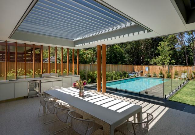 Gelling Road, Strathfield contemporary-patio