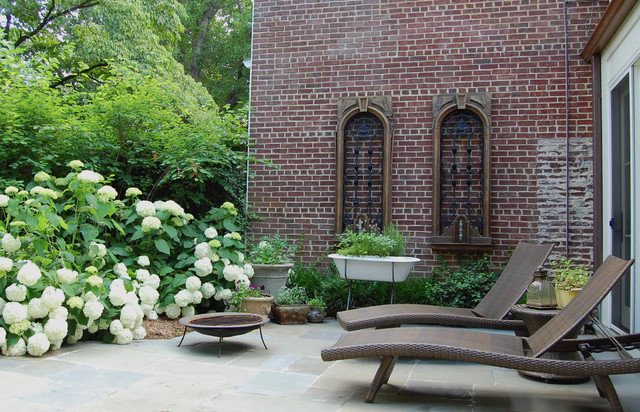 Georgetown Residence Eclectic Patio Dc Metro By Molly Scott Exteriors Llc