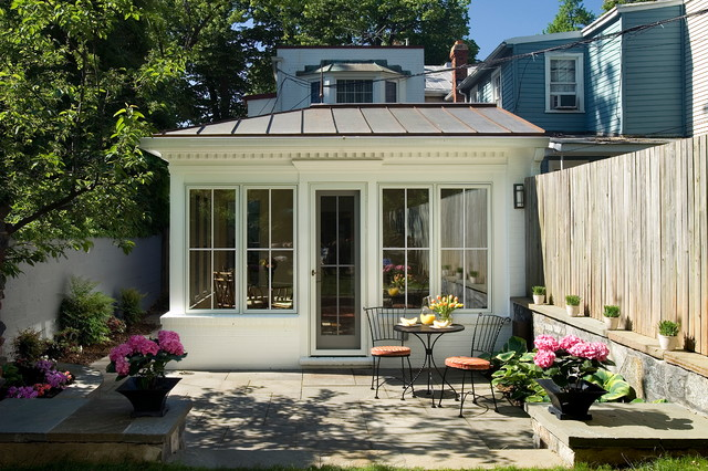 Georgetown Revival Traditional Patio Dc Metro By Anthony Wilder Design Build Inc