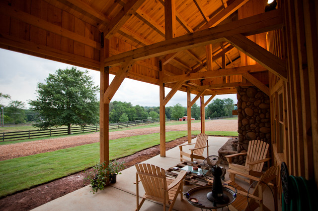 Traditional Patio By Sand Creek Post Beam