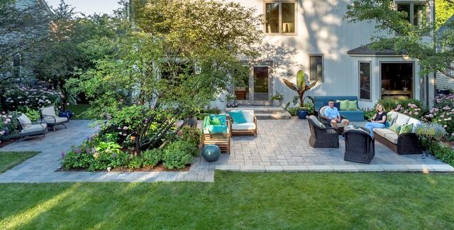 Glen Ellyn Landscape Contemporary Patio Chicago By