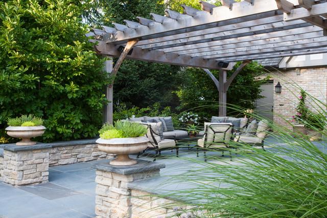 Glencoe Residence traditional-patio