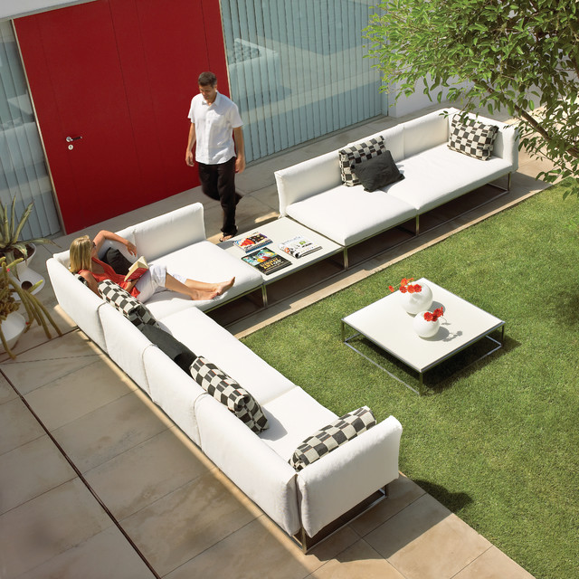 Gloster Cloud Sectional Set contemporary-patio