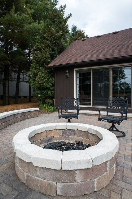 Golf Course Overlook traditional-patio