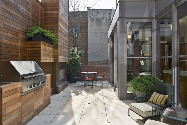 Gramercy Townhouse - Modern - Patio - new york - by ... on Townhouse Patio Design Ideas id=17139