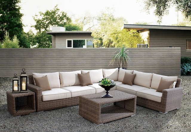 Grayson Bay Outdoor Sectional Tropical Patio Other