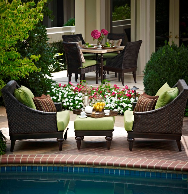 great collections of outdoor furniture traditional patio - Garden Furniture Traditional