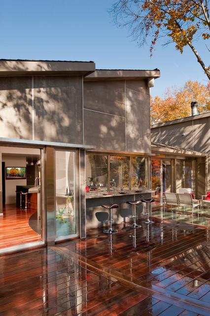 Great Falls Alteration contemporary-patio