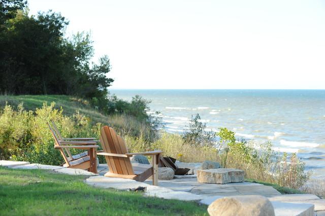 Green Cottage Traditional Landscape Grand Rapids