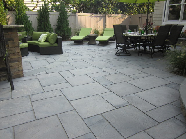 Green island design contemporary patio new york by